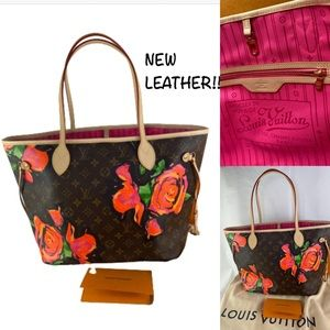 🌷ROSES🌷NEVERFULL COLLECTABLE LOUIS VUITTON